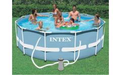 Бассейн каркасный + фильтр-насос 305х76см Intex 28702