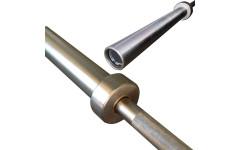 Гриф проф. д50 мм, макс. нагрузка 545кг, д. стержня 28мм, покрытие никель фосфор