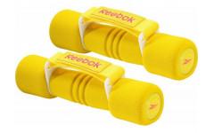 Гантель с мягкими накладками 1.0 кг желтая (пара) RAWT-11061YL
