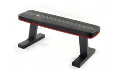 Горизонтальная скамья черн-бел-красн ADBE-10232