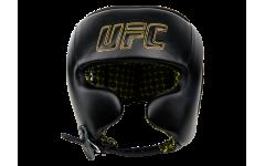Шлем с защитой щек на шнуровке UFC (Черный - S)