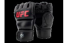 Перчатки MMA для грэпплинга 7 унций (Чёрные S/M) UFC
