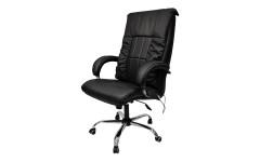 Офисное массажное кресло EGO BOSS EG1001 АНТРАЦИТ (Арпатек)