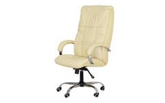 Офисное массажное кресло EGO BOSS EG1001 КРЕМ (Арпатек)